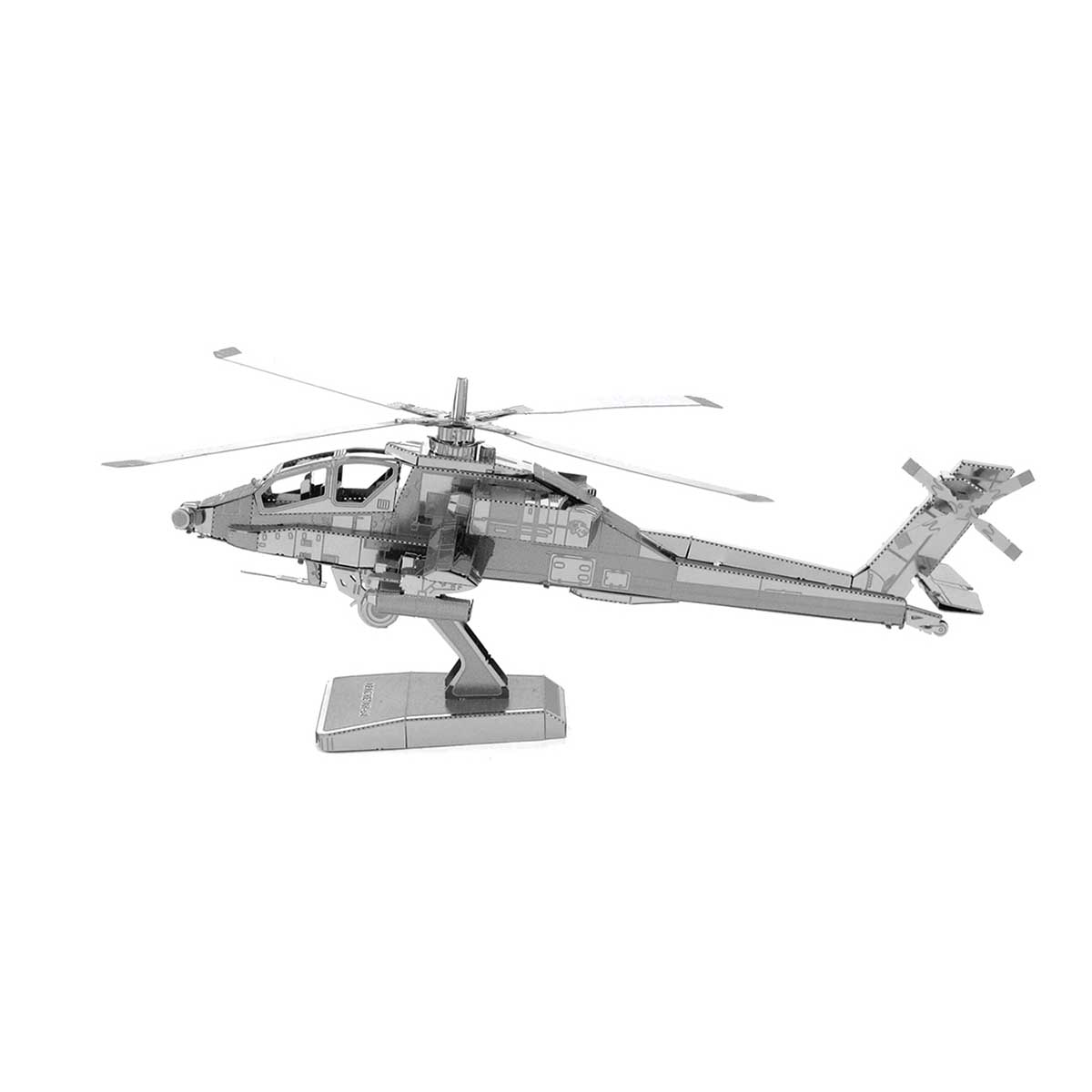 AH-64 Apache Boeing helicopter Planes Metal Puzzles