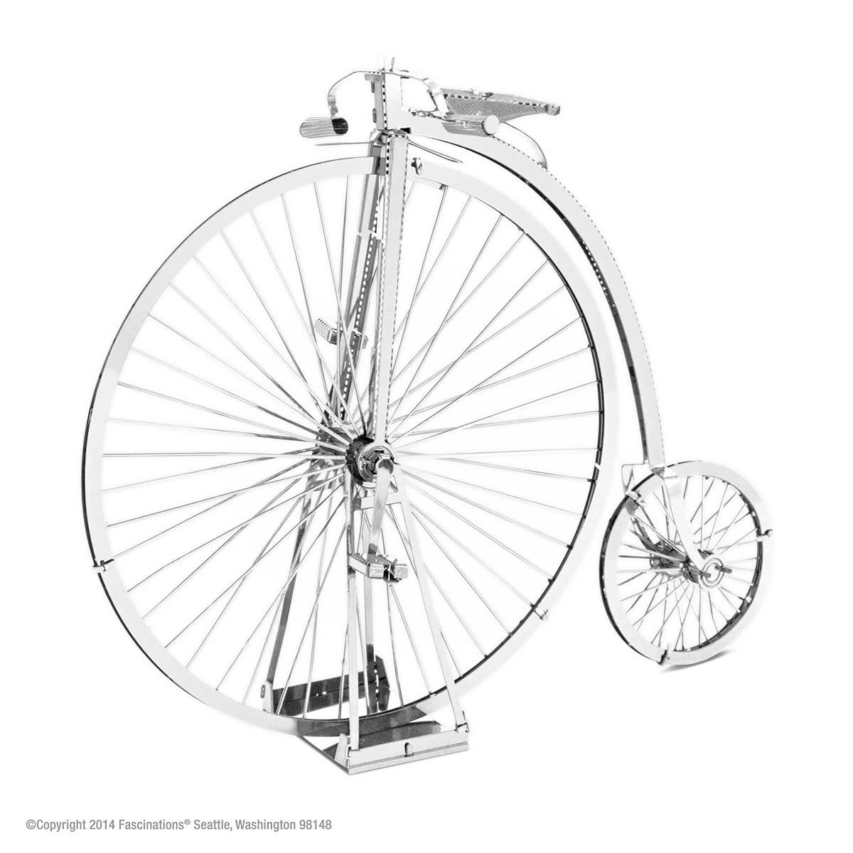Penny Farthing Vehicles Metal Puzzles