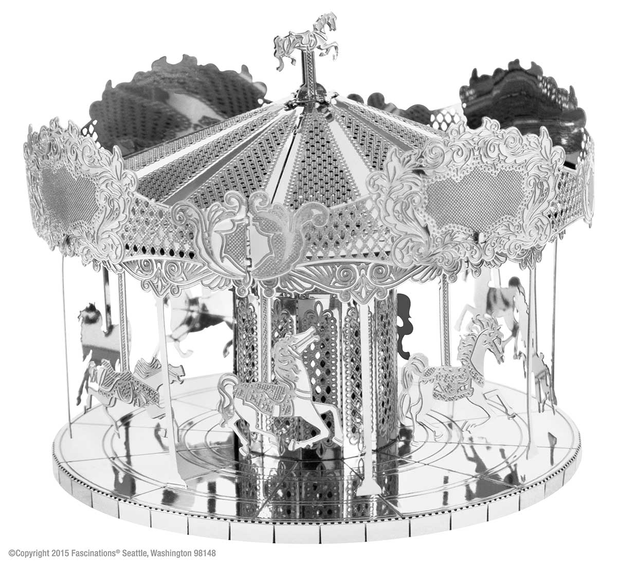 Merry Go Round Carnival 3D Puzzle
