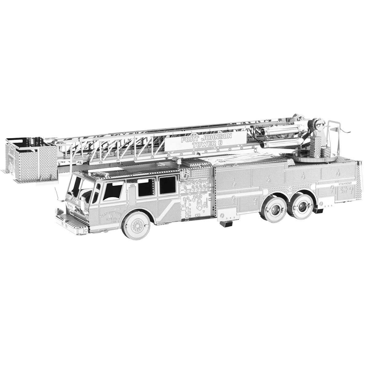Fire Engine Vehicles Metal Puzzles