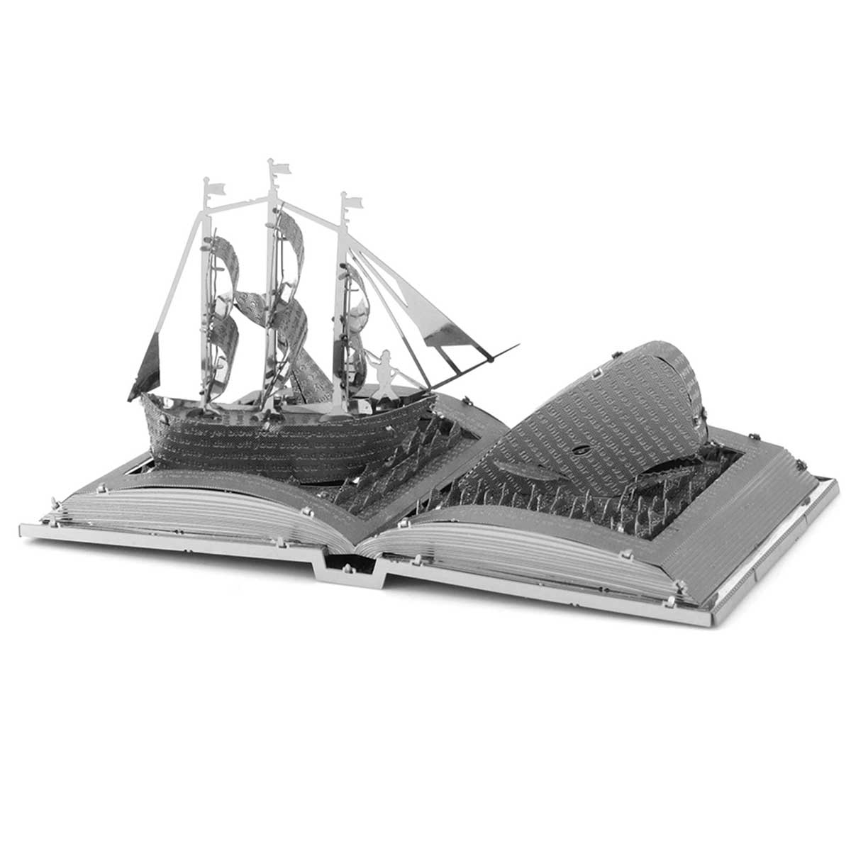 Moby Dick Book Sculpture Movies / Books / TV 3D Puzzle