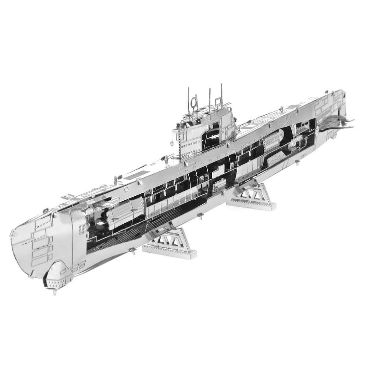 German U-boat Boats Metal Puzzles
