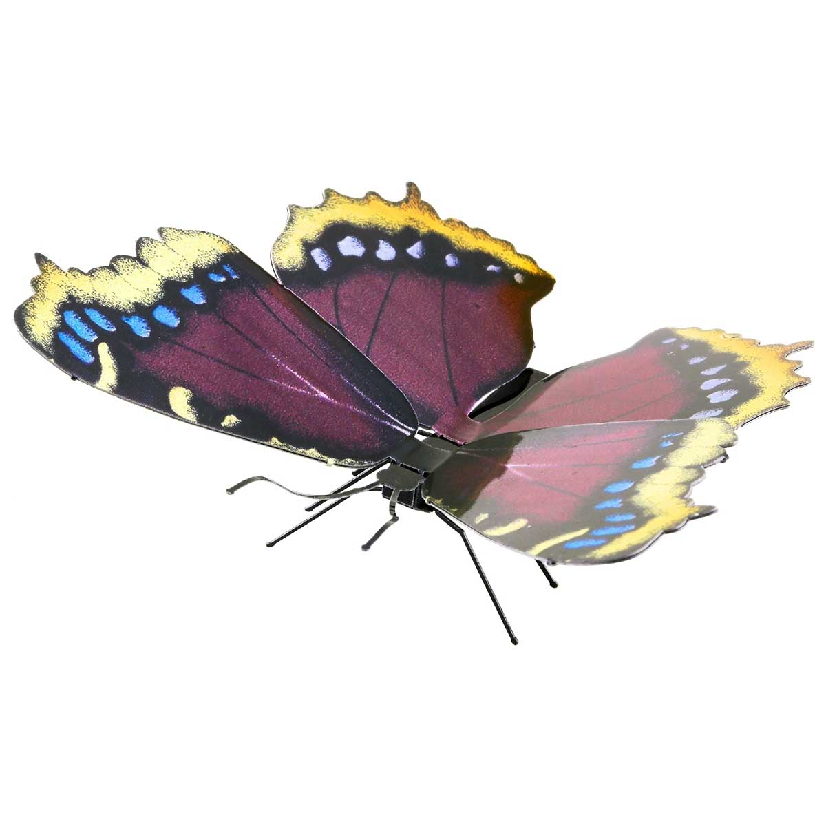 Mourning Cloak Butterflies and Insects Metal Puzzles
