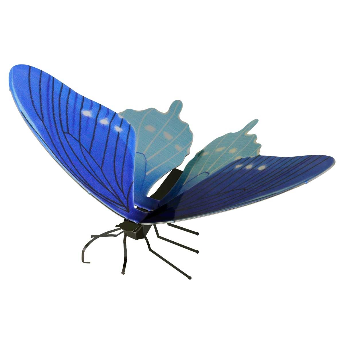 Pipevine Swallowtail Butterflies and Insects Metal Puzzles