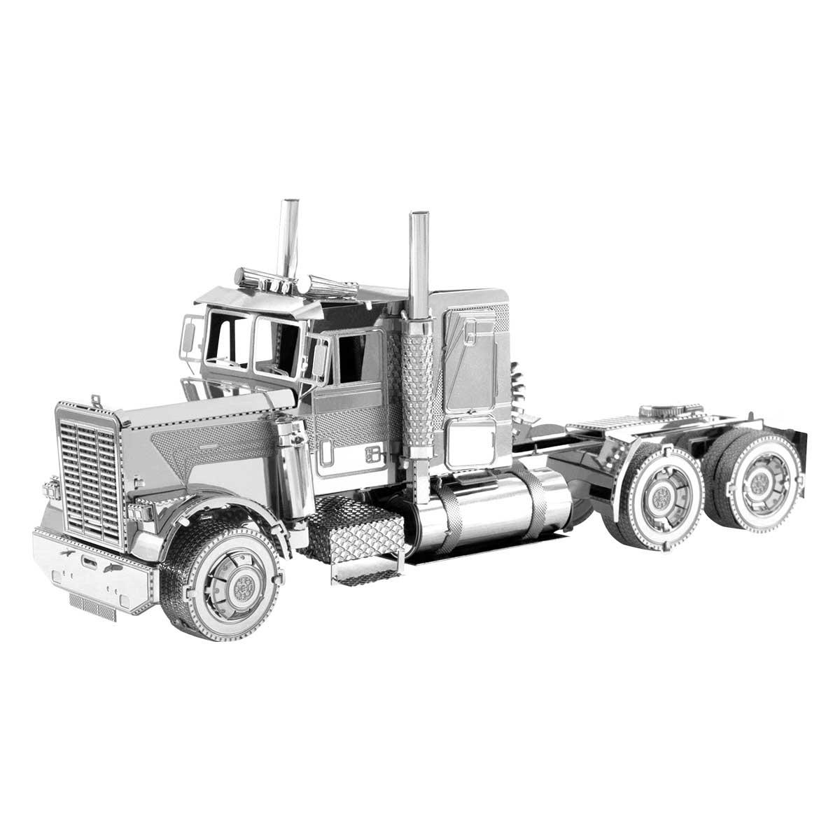 FLC Long Nose Truck Cars Metal Puzzles