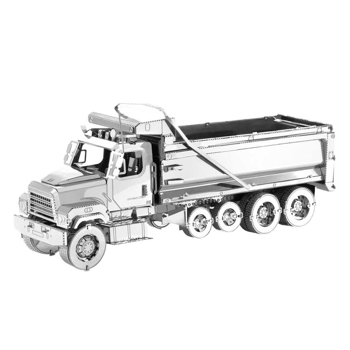 Dump Truck Cars Metal Puzzles
