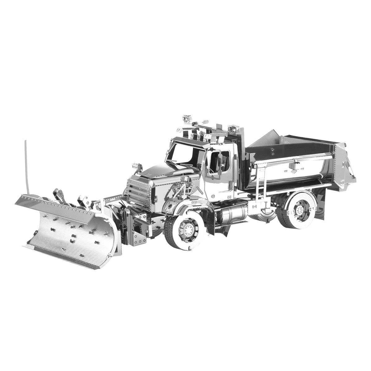 114SD Snow Plow Cars 3D Puzzle