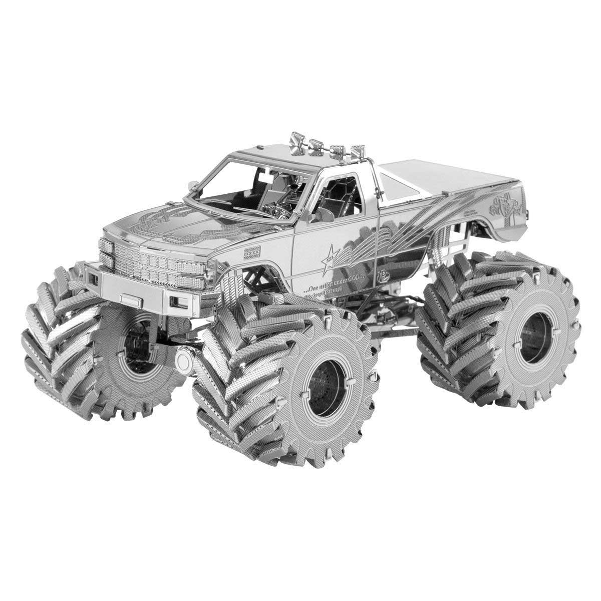 Monster Truck Cars Metal Puzzles