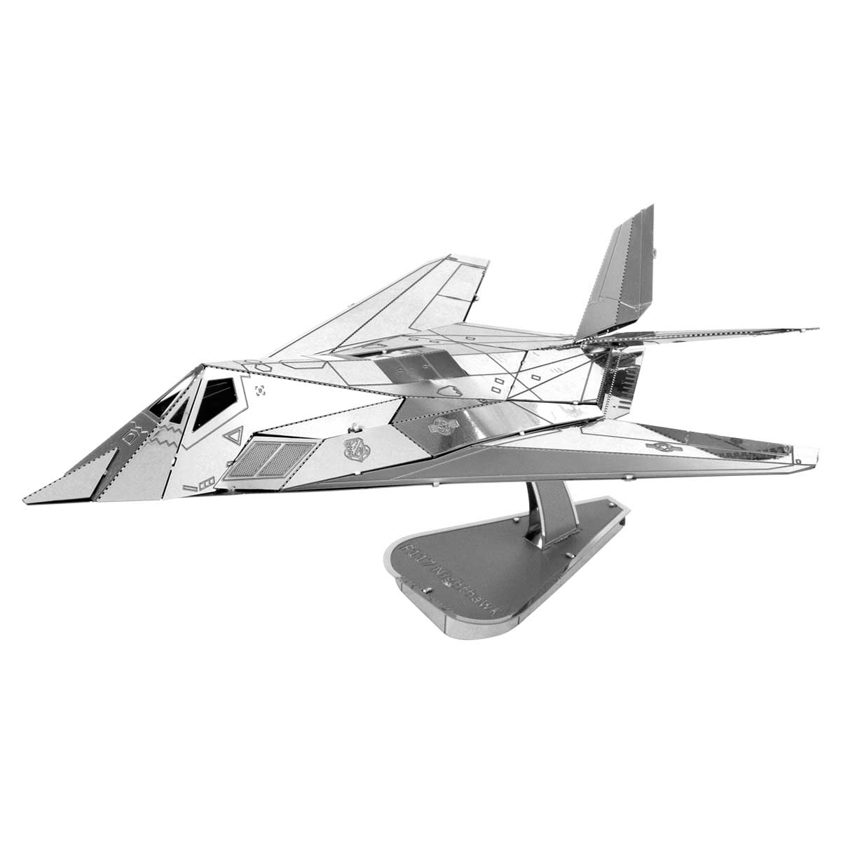F-117 Nighthawk Planes Metal Puzzles