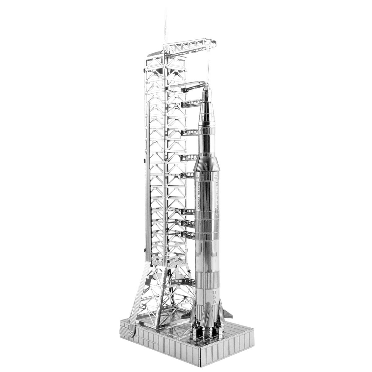 Apollo Saturn V with Gantry Space 3D Puzzle