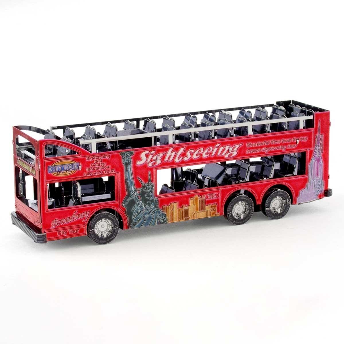 Big Apple Tour Bus Cars 3D Puzzle