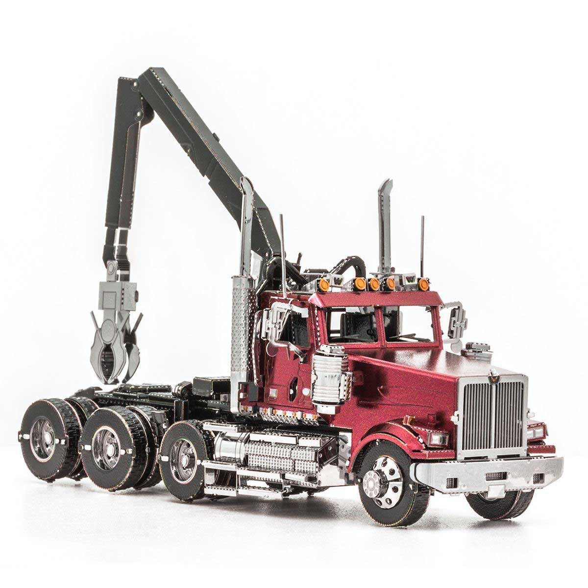 Western Star Log Truck Cars Metal Puzzles