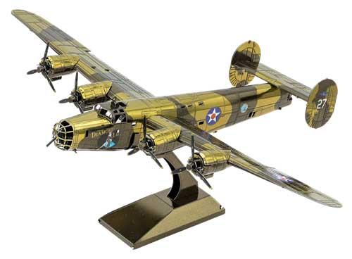 B-24 Liberator Planes Metal Puzzles