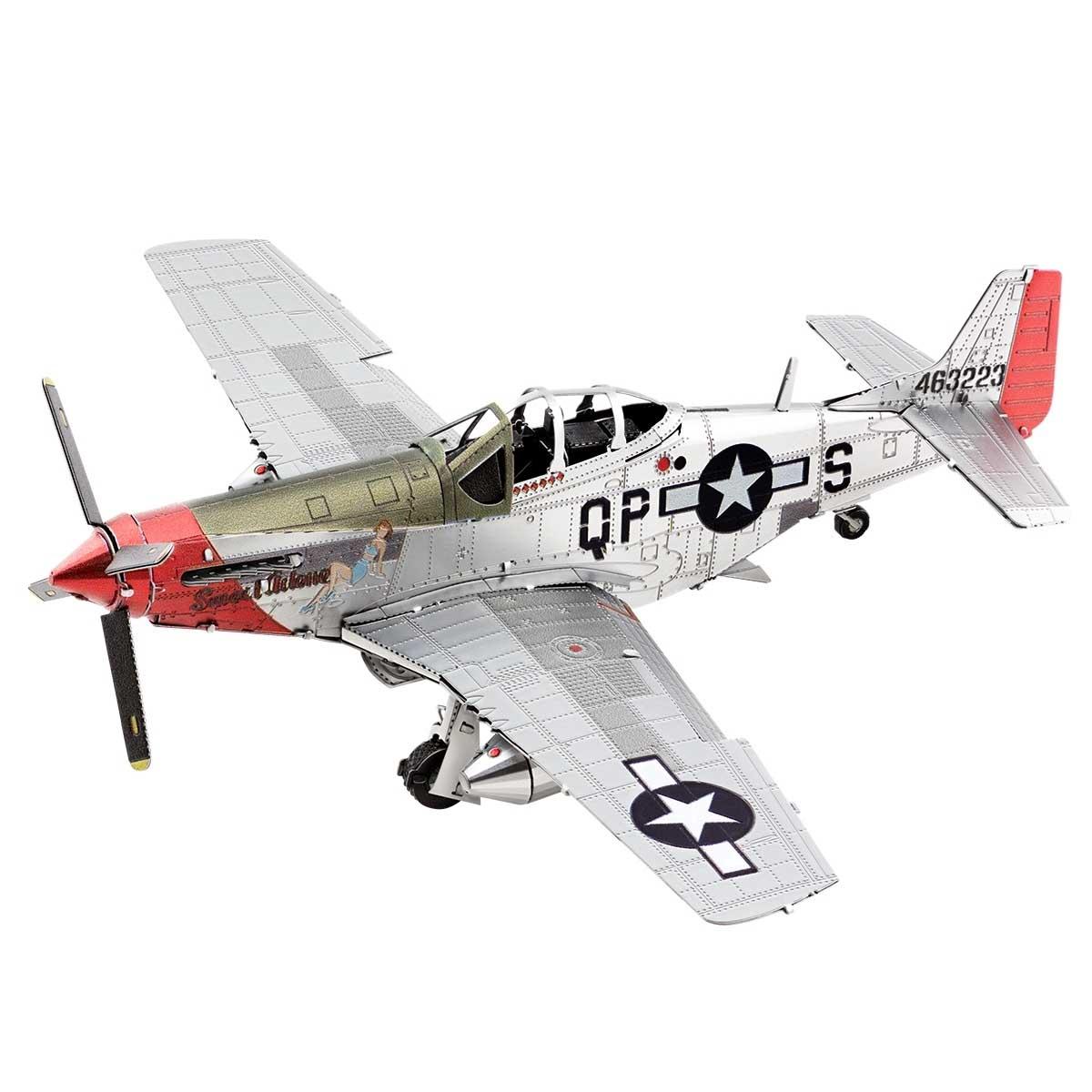"""Mustang P51D """"Sweet Arlene"""" Planes Metal Puzzles"""