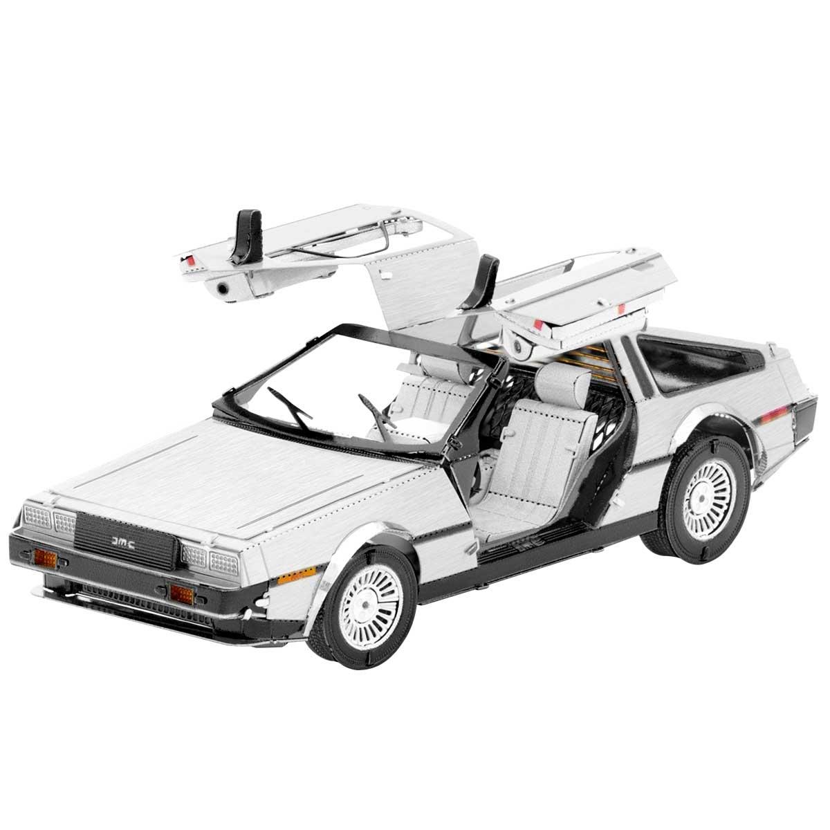 DeLorean Cars Metal Puzzles