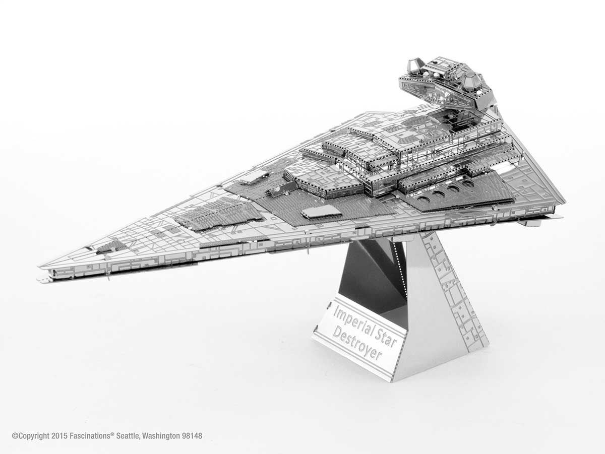 Imperial Star Destroyer Space Metal Puzzles