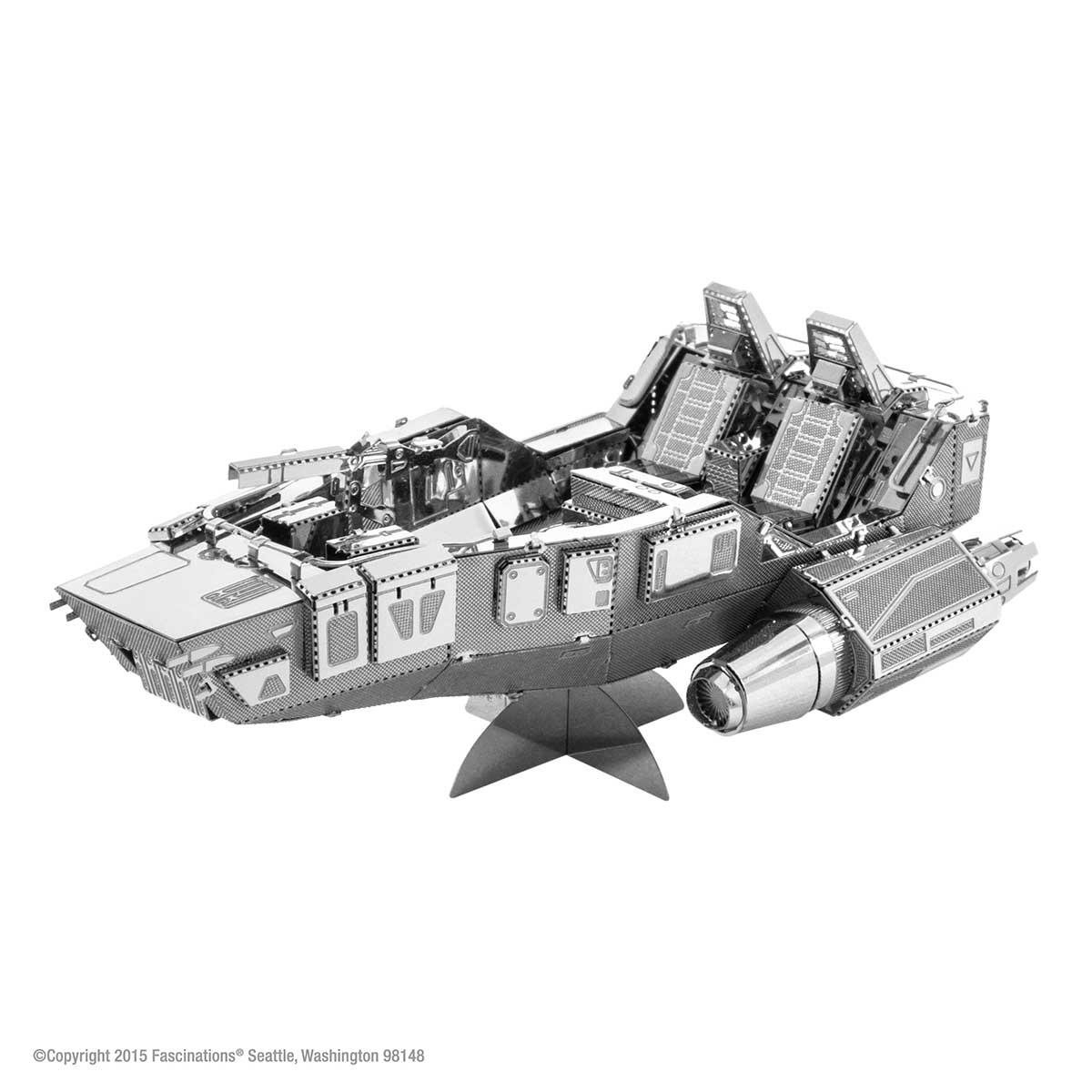 First Order Snowspeeder Vehicles Metal Puzzles