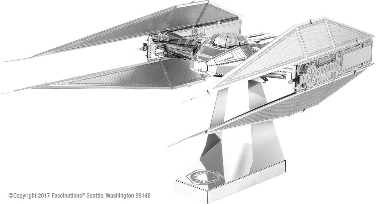 Kylo Ren's TIE Silencer Space Metal Puzzles