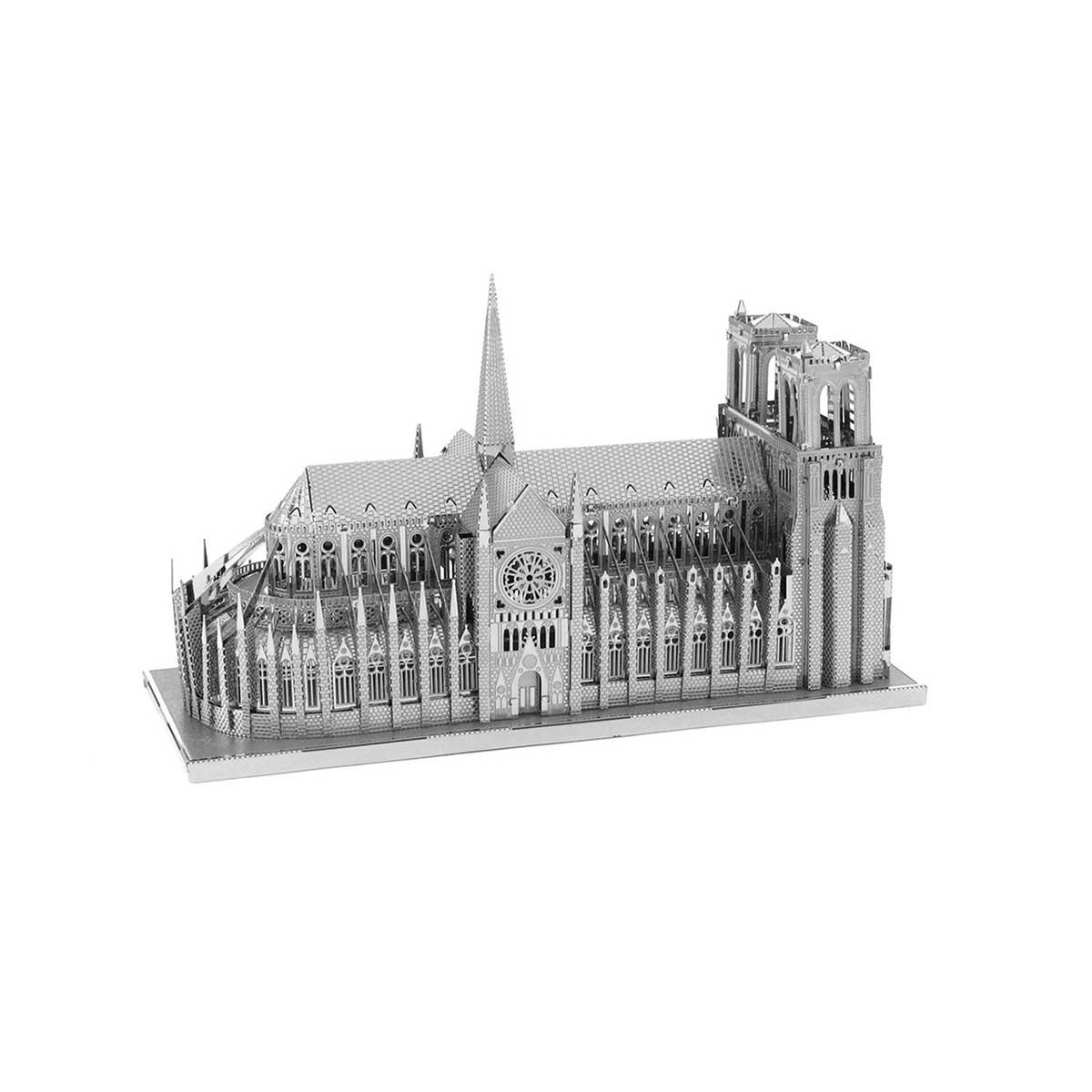 Notre Dame Cathedral Paris Metal Puzzles