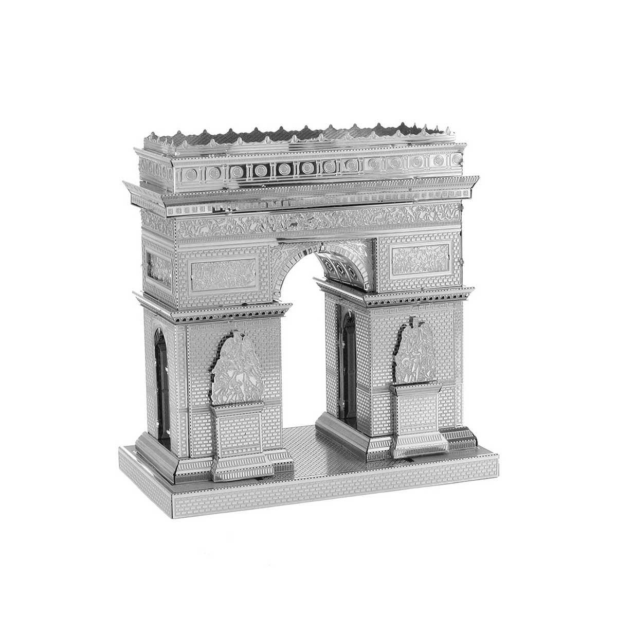 Arc de Triomphe Landmarks / Monuments Metal Puzzles
