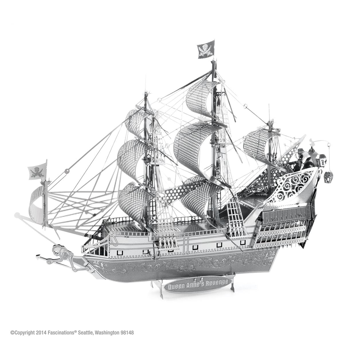Queen Anne's Revenge ship Boats 3D Puzzle