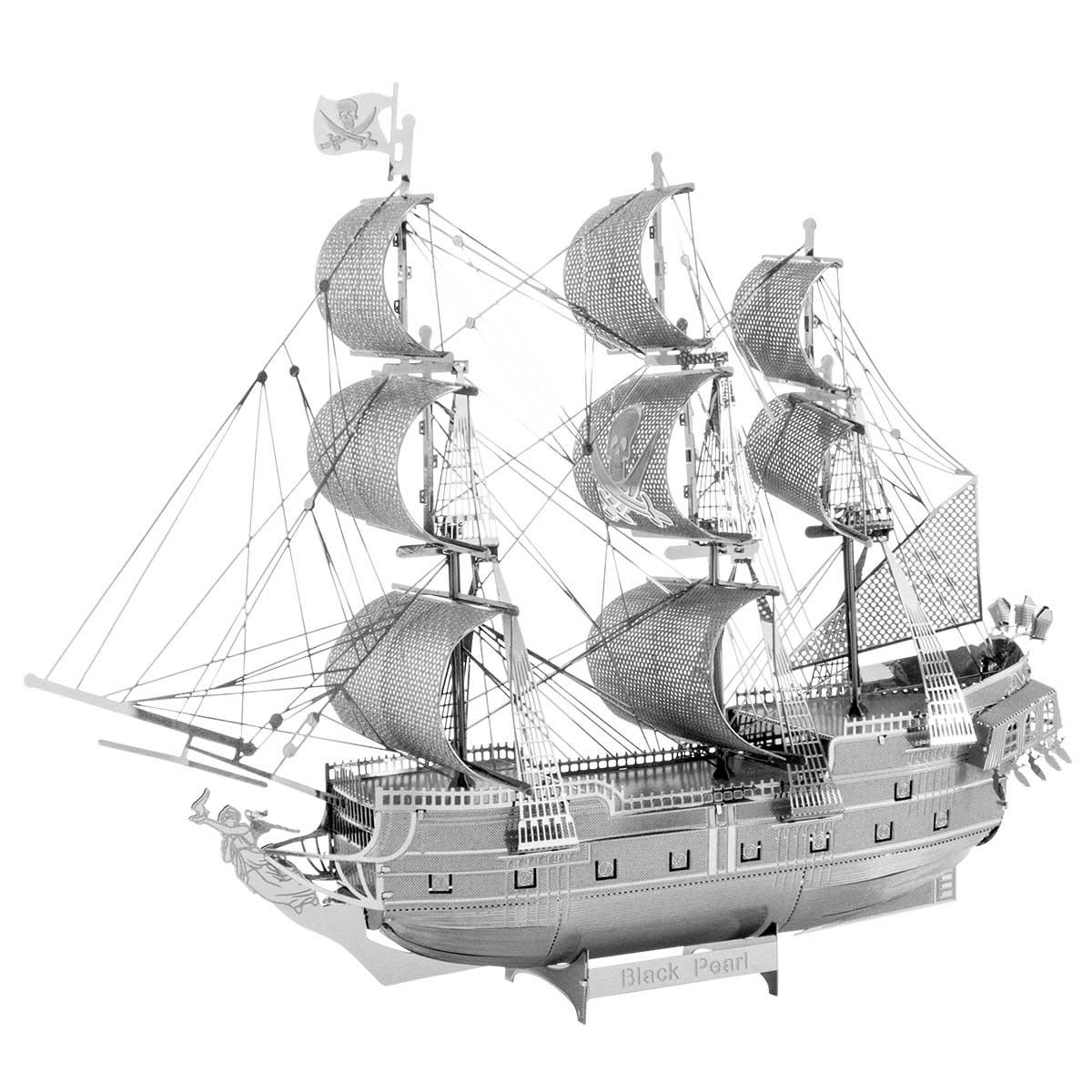 Black Pearl Ship Boats 3D Puzzle