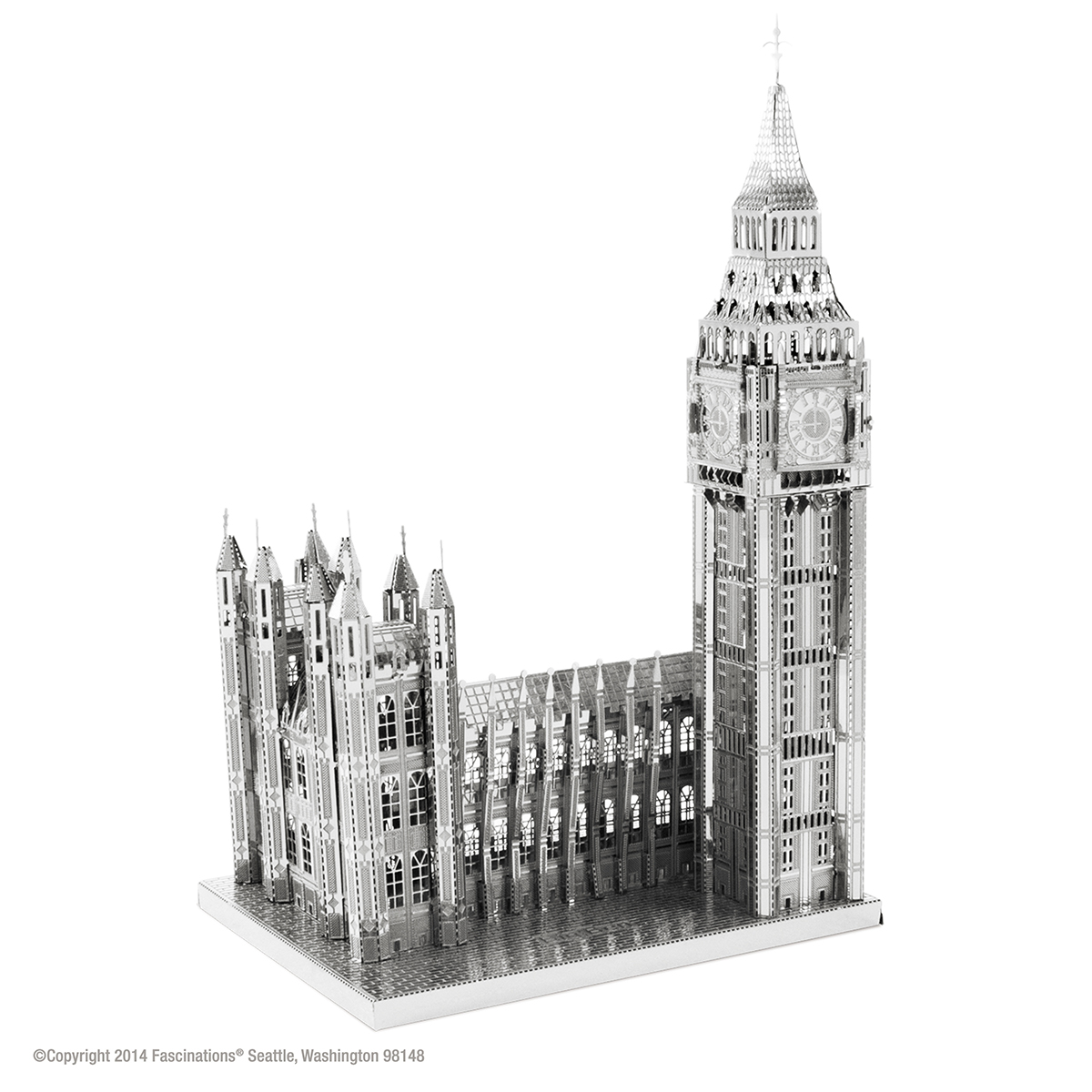 Big Ben Landmarks / Monuments Metal Puzzles