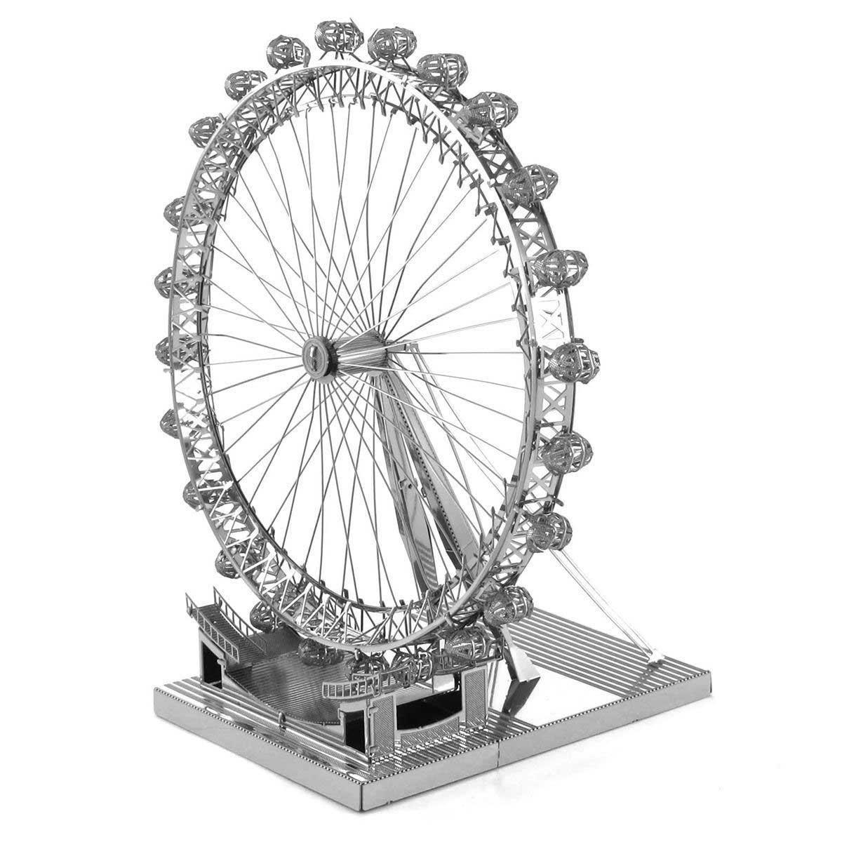 London Eye Landmarks / Monuments Metal Puzzles