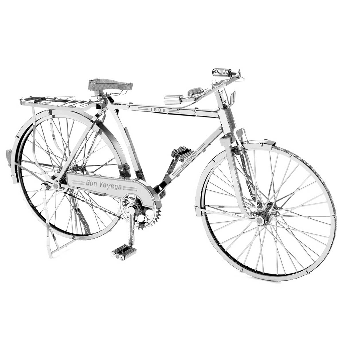 Classic Bicycle Vehicles Metal Puzzles
