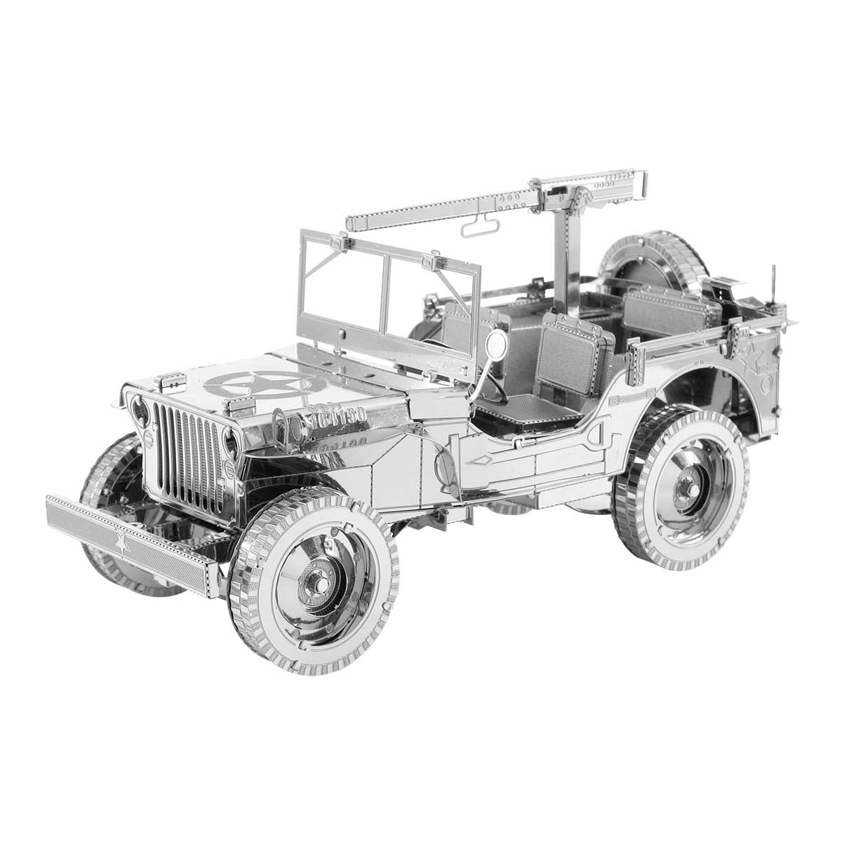 Jeep Willys Cars Metal Puzzles