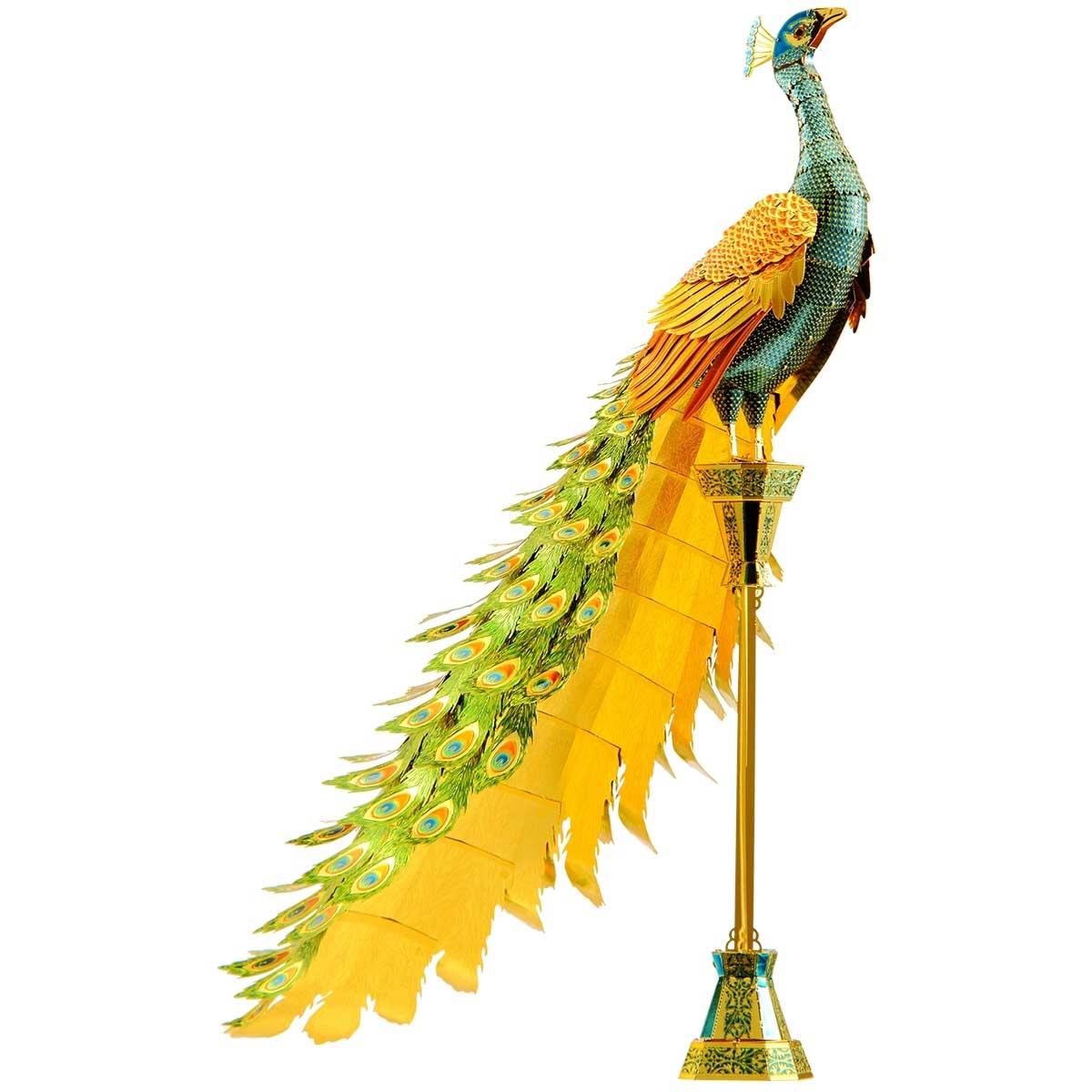 Peacock Birds Metal Puzzles