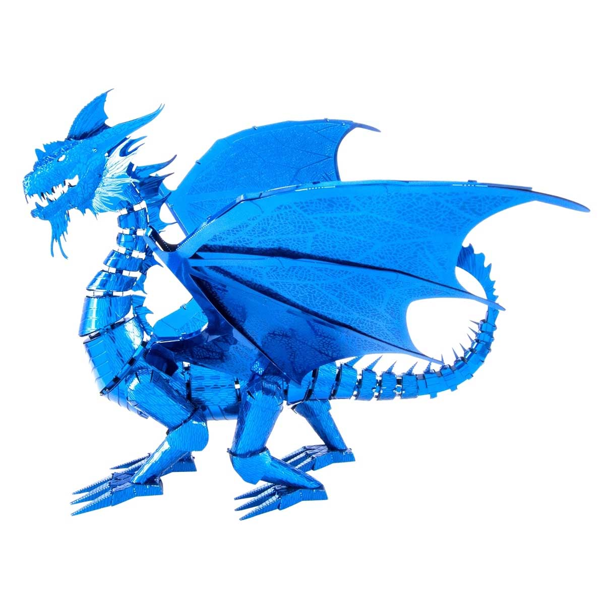 Blue Dragon Dragons Metal Puzzles