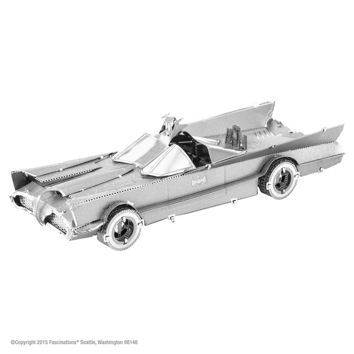 Classic TV Series Batmobile Cars 3D Puzzle