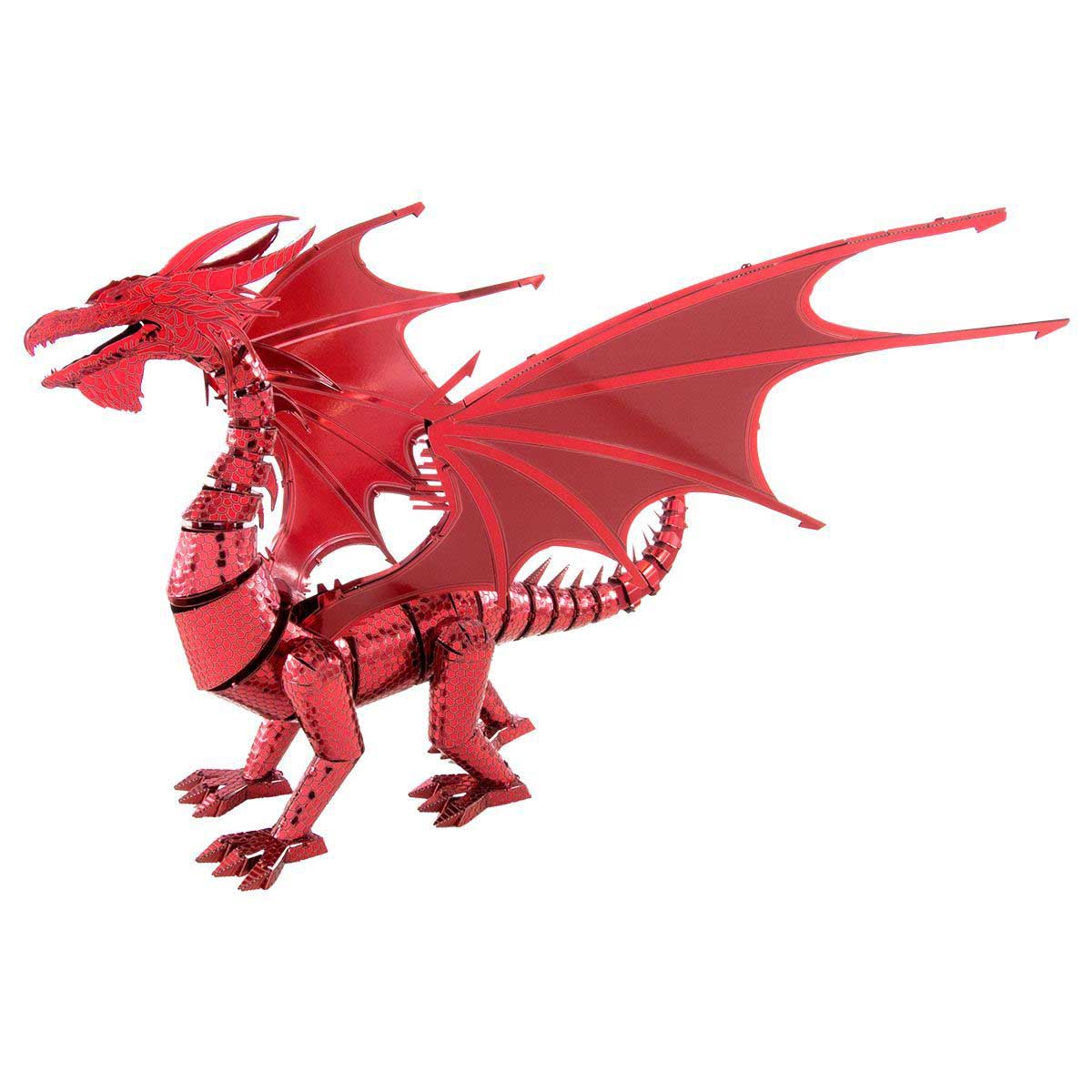 Red Dragon Dragons 3D Puzzle