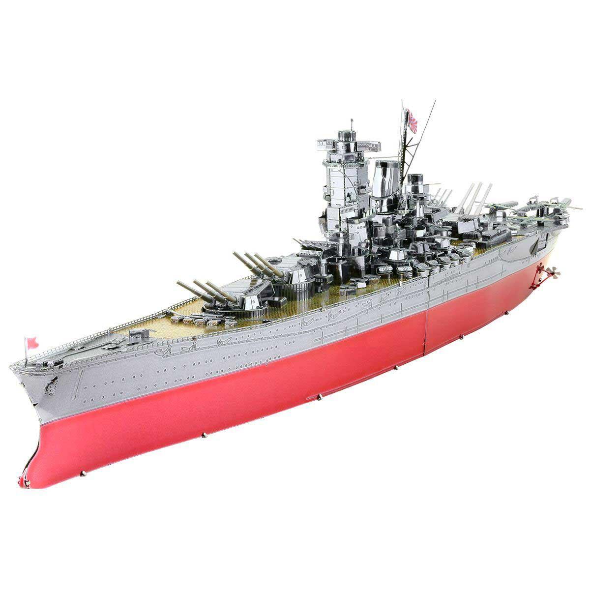 Yamato Battleship Boats Metal Puzzles