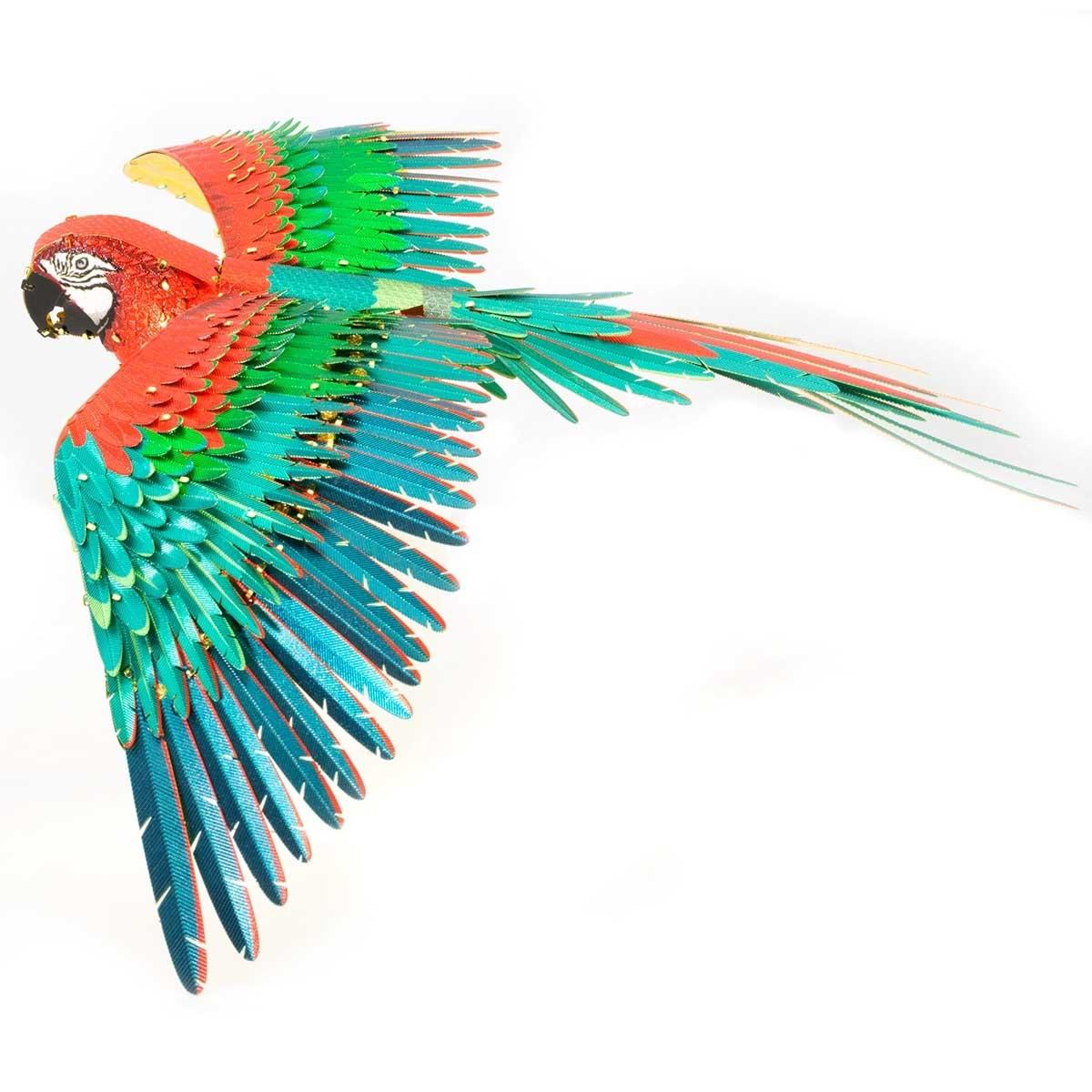 Parrot Birds Metal Puzzles