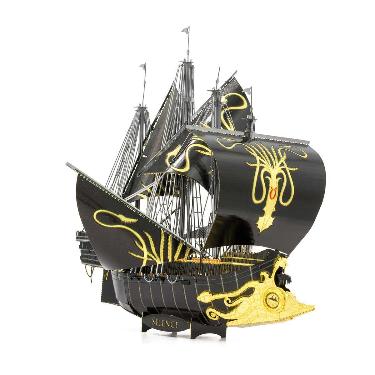 Silence Boats Metal Puzzles