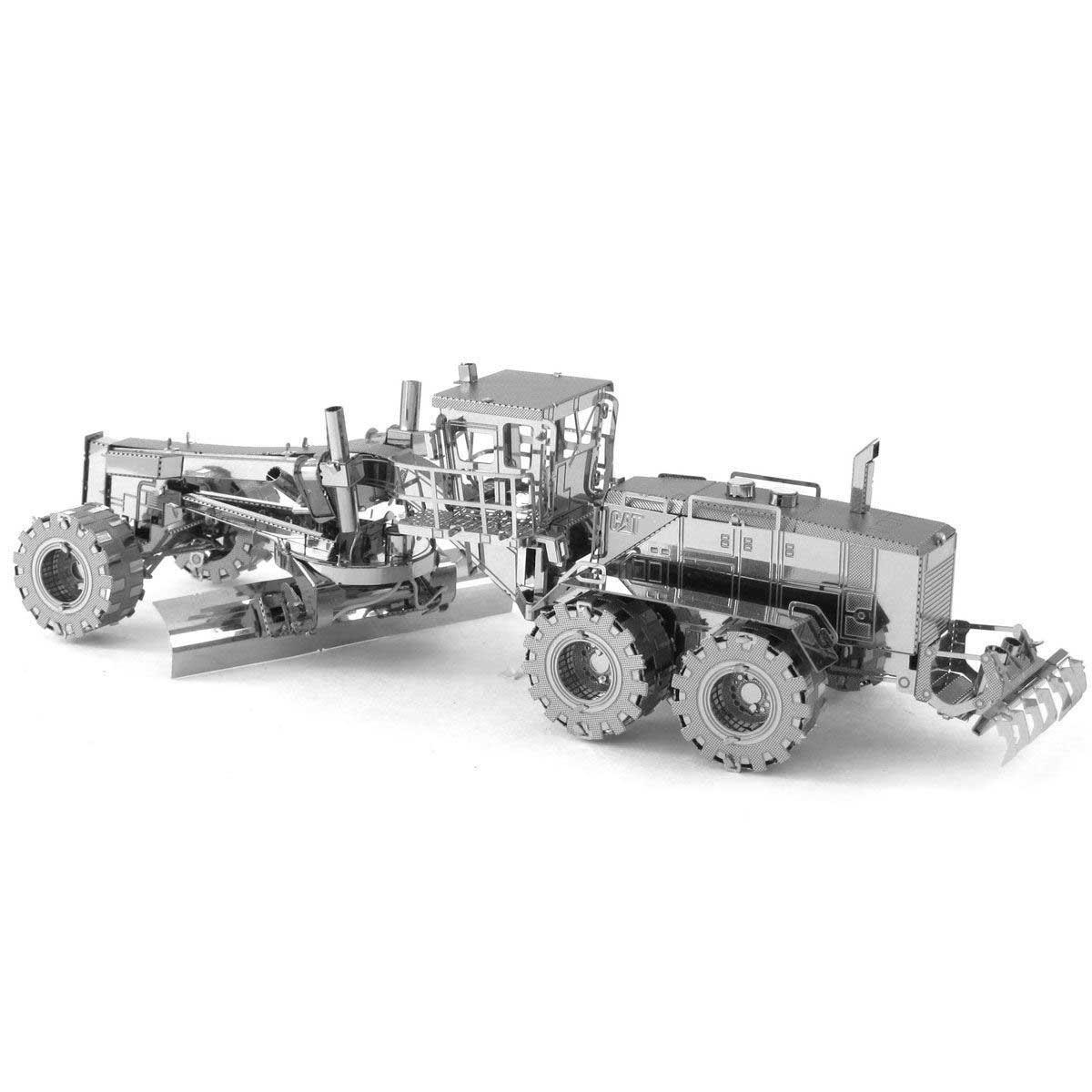 Cat Motor Grader Farm Metal Puzzles