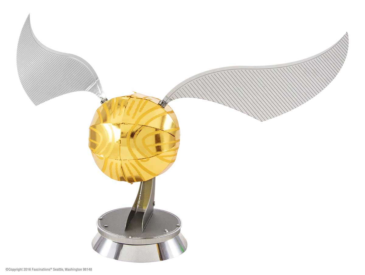 Golden Snitch Harry Potter Metal Puzzles