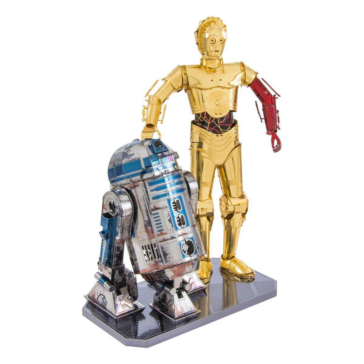 R2-D2 & C-3PO Movies / Books / TV Metal Puzzles