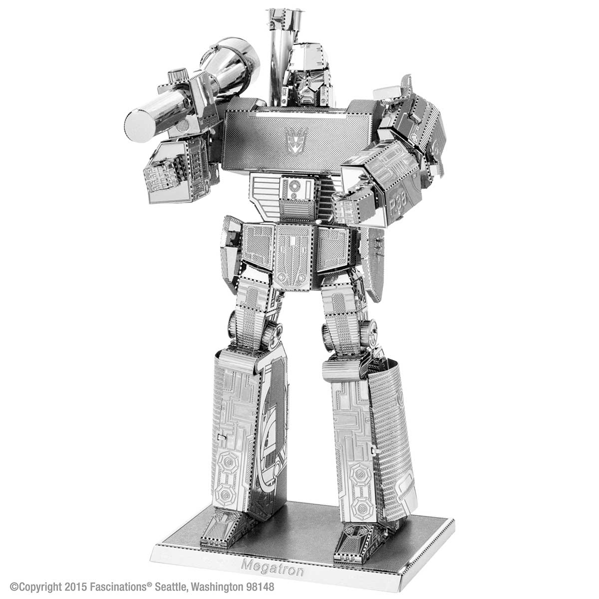Megatron Cartoons Metal Puzzles