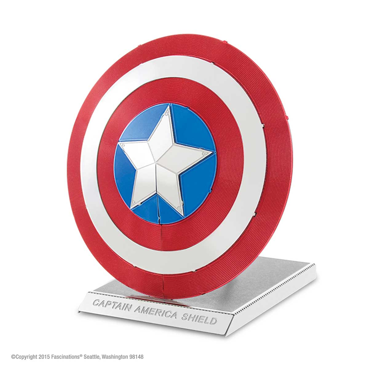 Captain America's Shield Movies / Books / TV Metal Puzzles