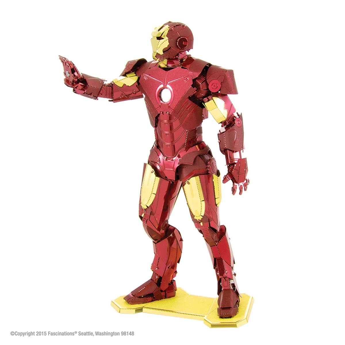 Iron Man Movies / Books / TV Metal Puzzles