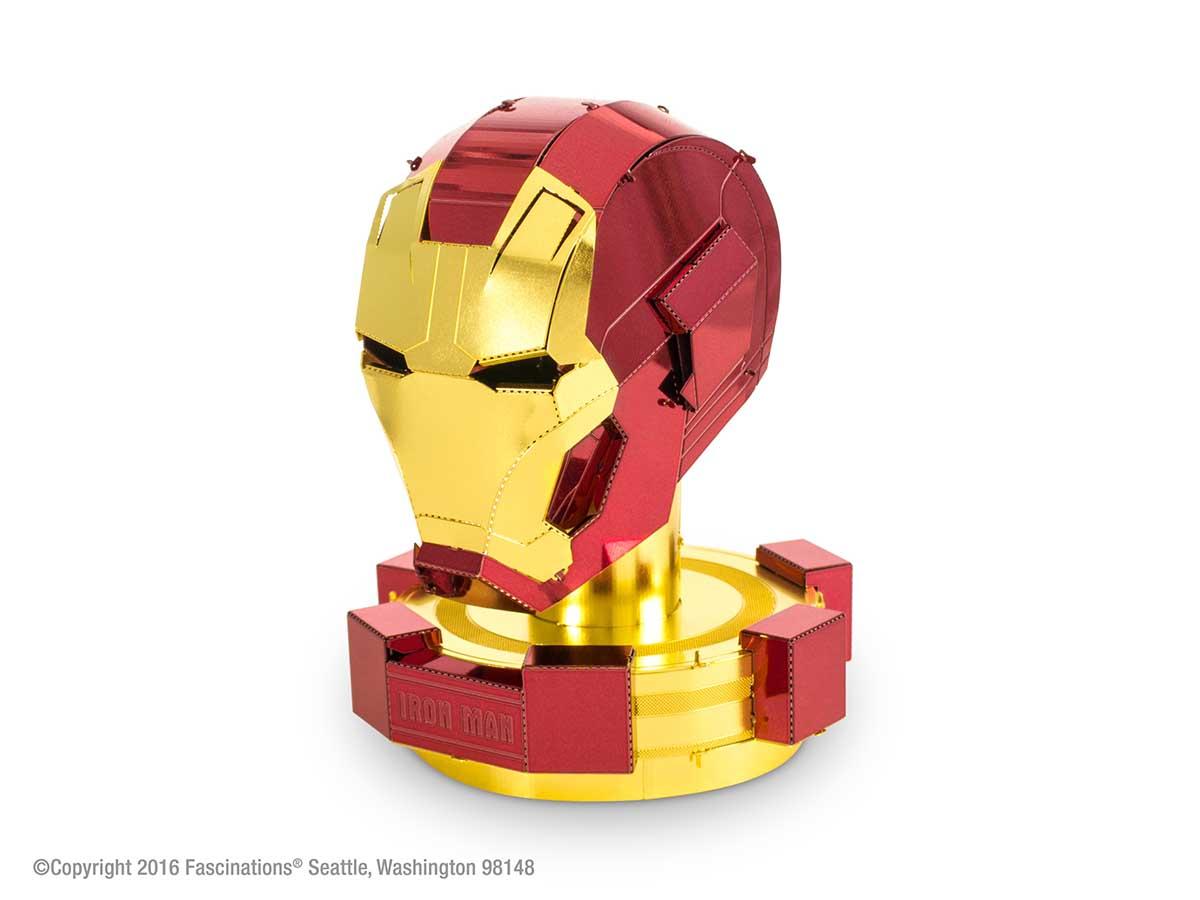 Iron Man Helmet Movies / Books / TV Metal Puzzles