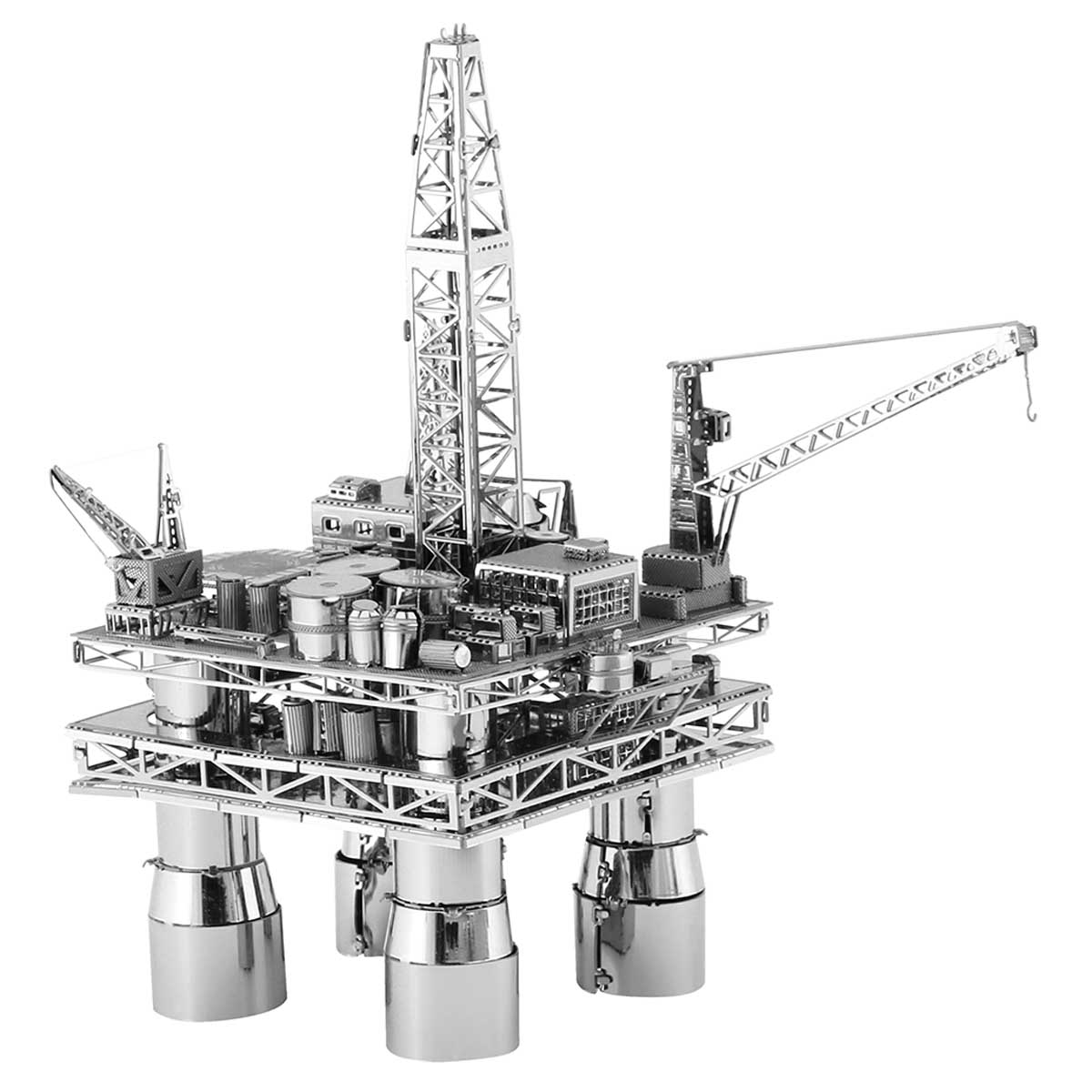 Offshore Oil Rig & Oil Tanker Construction 3D Puzzle