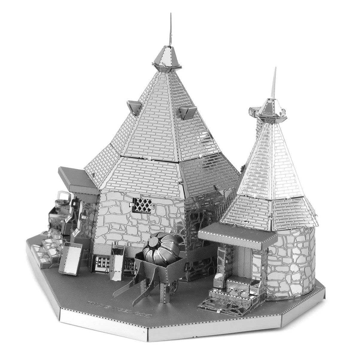 Hagrid's hut Harry Potter Metal Puzzles