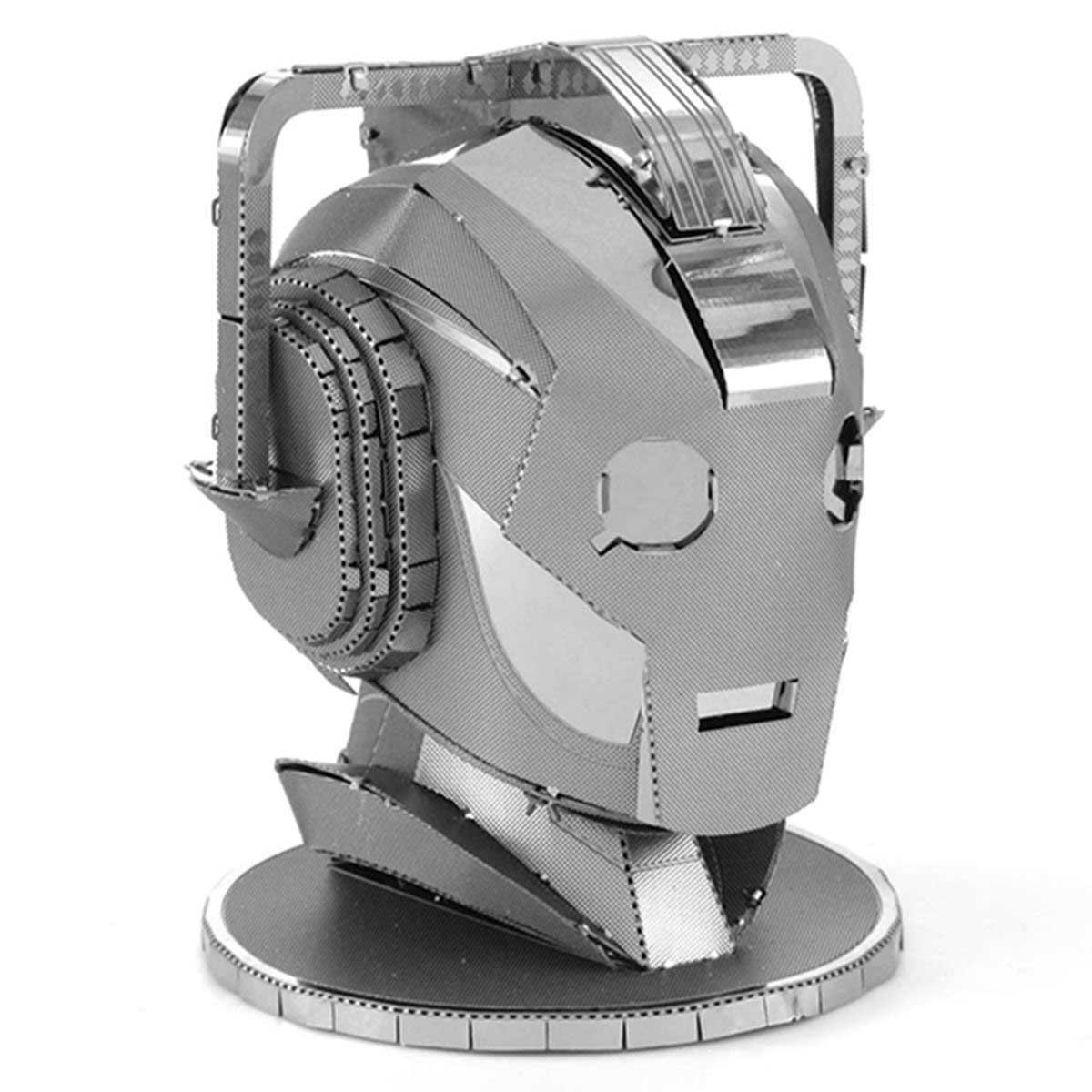 Cyberman Head Movies / Books / TV Metal Puzzles