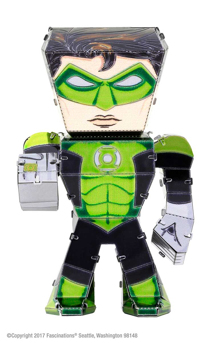 Green Lantern Movies / Books / TV Metal Puzzles