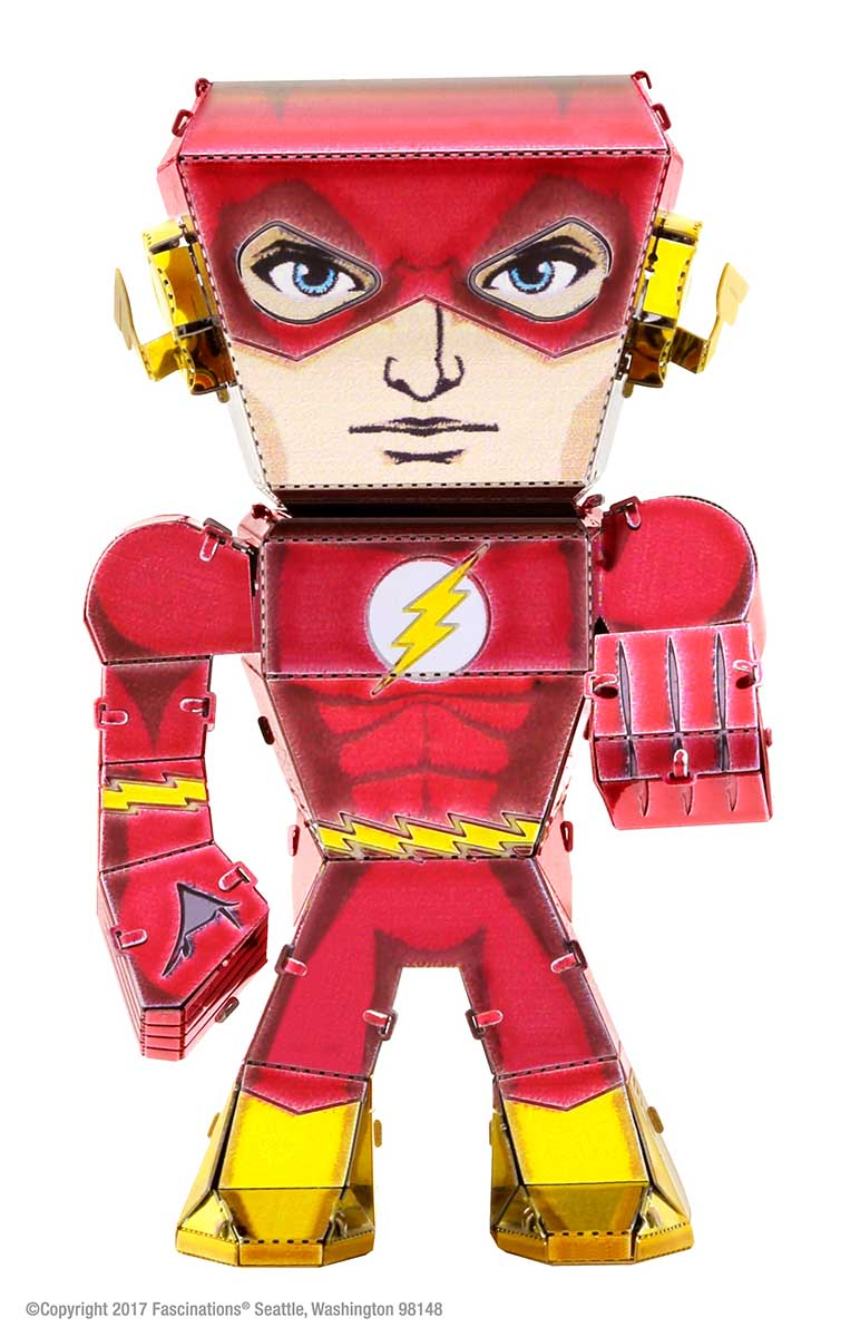 The Flash Movies / Books / TV Metal Puzzles