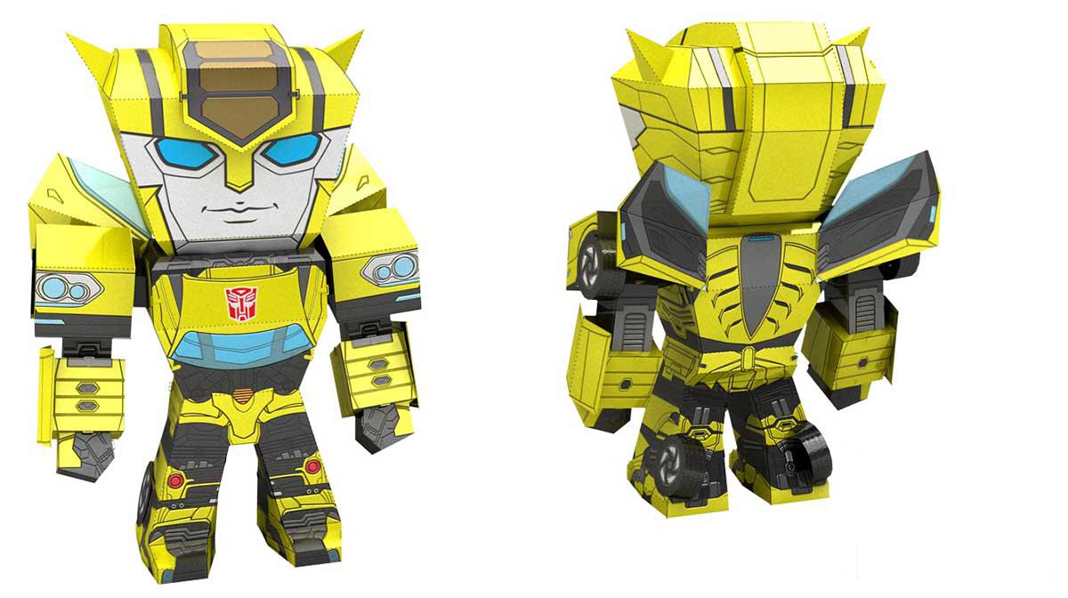 Bumblebee Cartoons Metal Puzzles